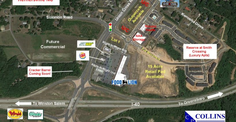 Smith Crossing - Kernersville, NC - Collins Commercial Properties, Inc
